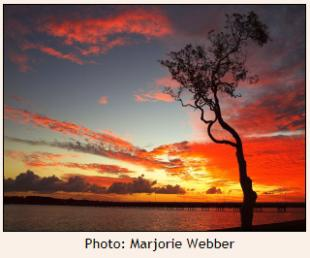 Sunset - Bribie Is